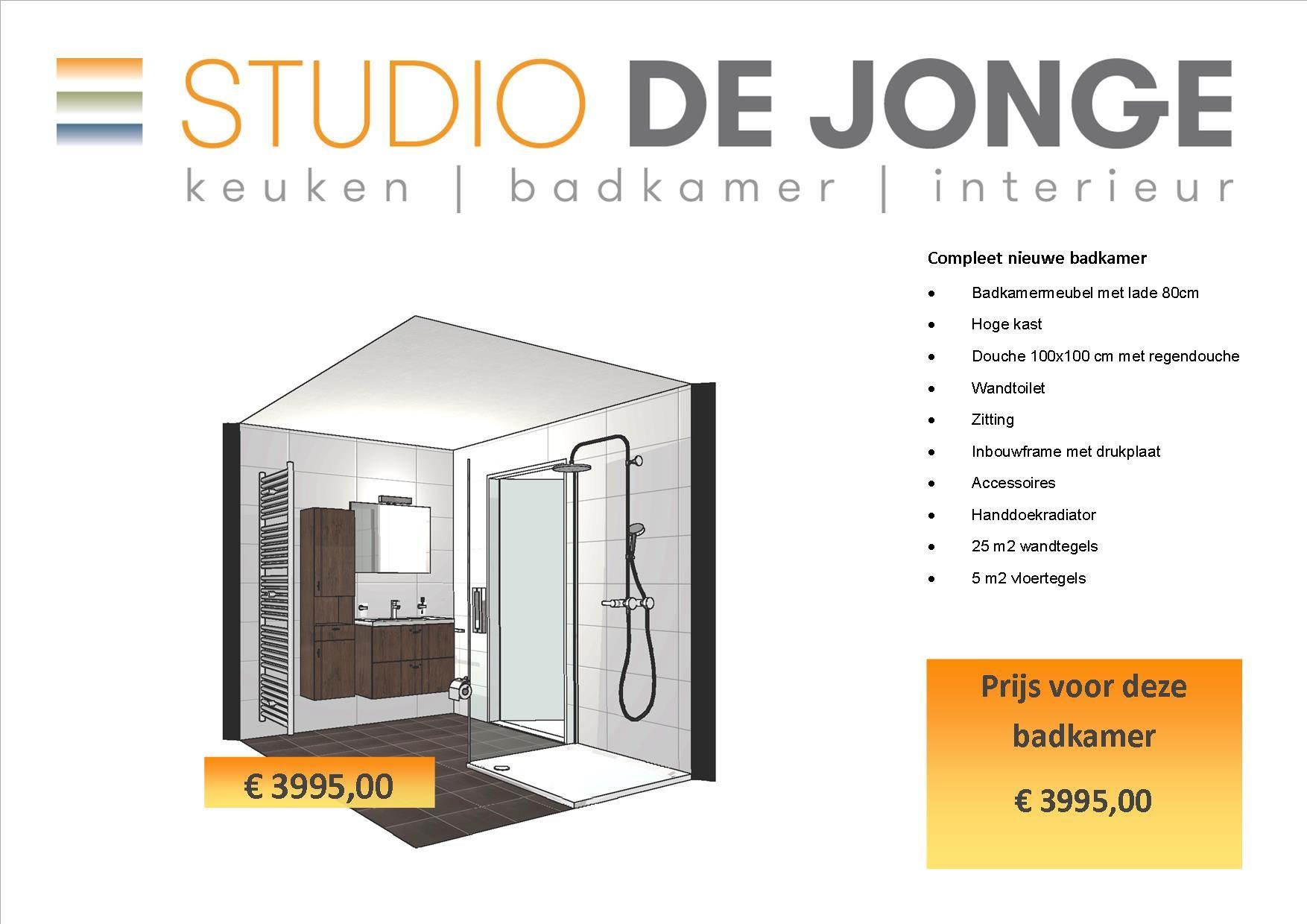 Showroom verkoop badkamer, keuken, kasten en meer